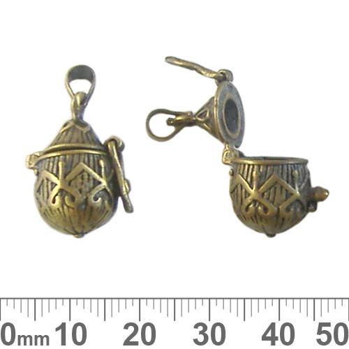 Bronze Gothic Teardrop Wish Box