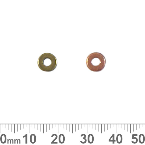 7mm Plain Washer Metal Beads