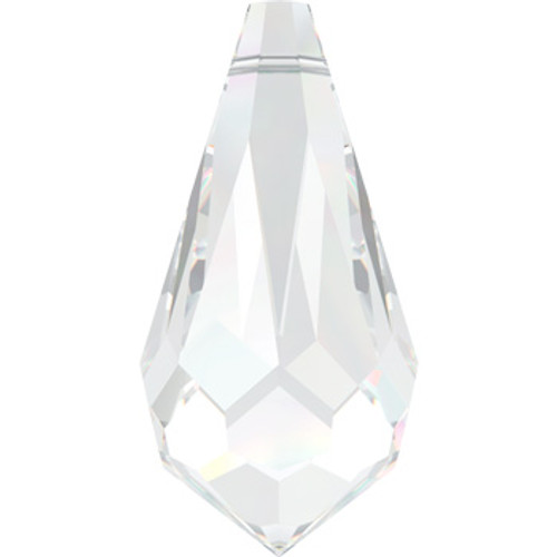 11mm Crystal Swarovski® Teardrop Factory Pack