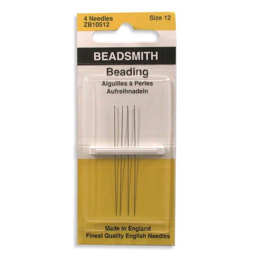 Beadsmith Size 12 Beading Needles