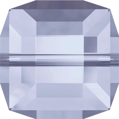 8mm Provence Lavender Swarovski® Cube Beads