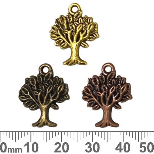 Tree of Life Metal Charms