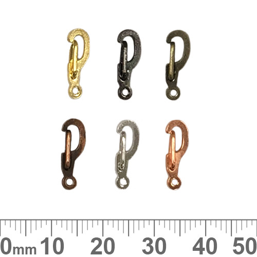 BULK 14mm Self Closing Hook Clasps