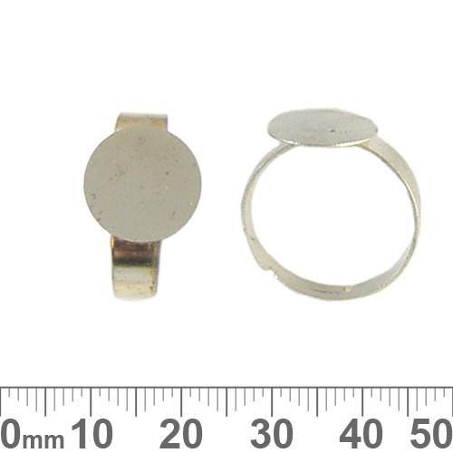Flat Glue On Ring Base