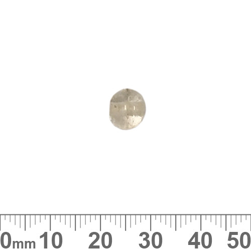 Clear 8mm Round Glass Beads
