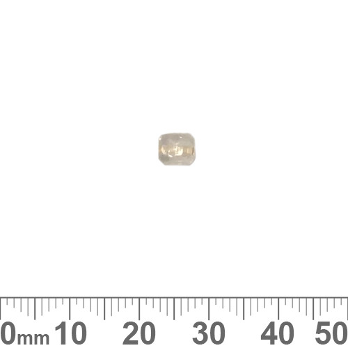 Clear 5mm Cube Glass Beads