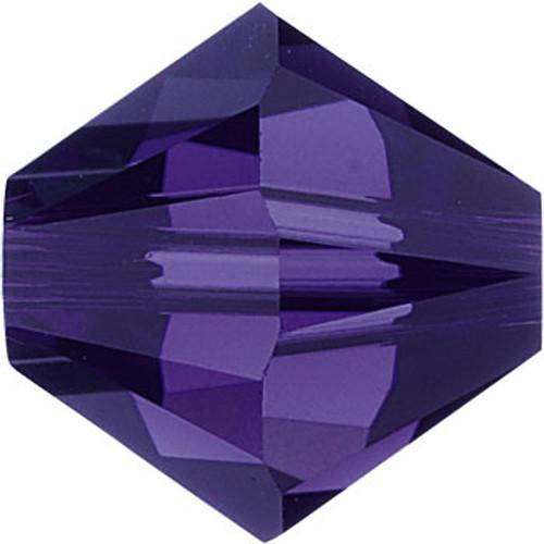 BULK 3mm Purple Velvet Swarovski® Bicones