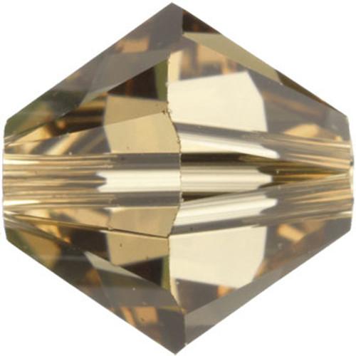 BULK 3mm Light Colorado Topaz Swarovski® Bicones