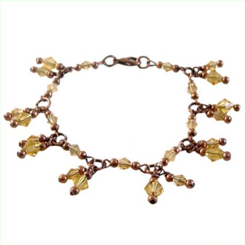 Amber Charm Bracelet Kit