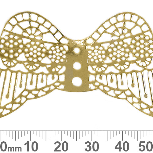 Large Filigree Angel Wings