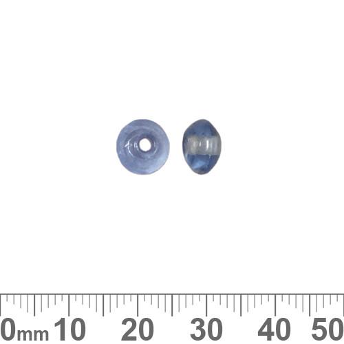 Light Blue 8mm Rondelle Glass Beads