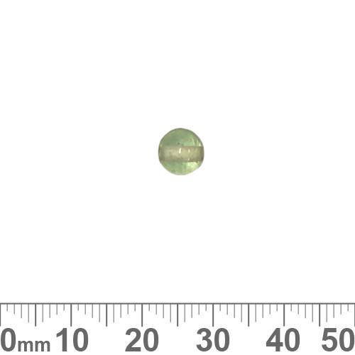 Light Peppermint Green 6mm Round Glass Beads