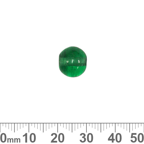 Teal-Green 10mm Round Glass Beads