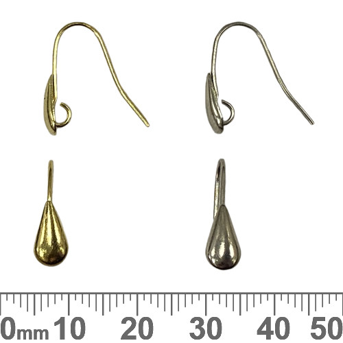 BULK Drop Front French Ear Wires