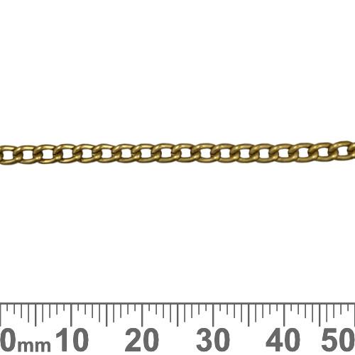Bronze 4mm Aluminium Small Twisted Chain