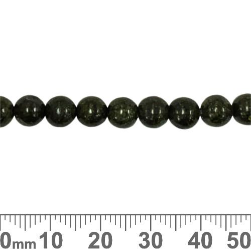 Russian Serpentine 6mm Round Beads