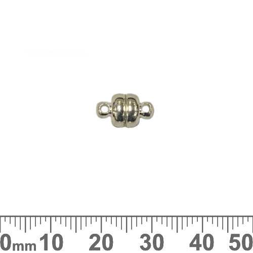 12mm Oval Magnetic Clasps with Loops