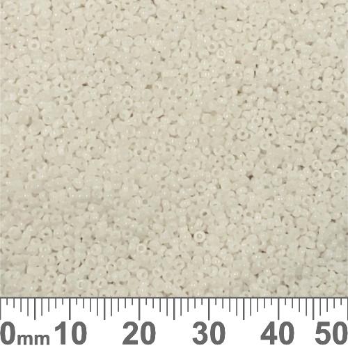 15/0 White Pearl CeylonJapanese Seed Beads