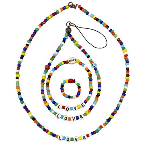 Rainbow Love Seed Bead Set Kit