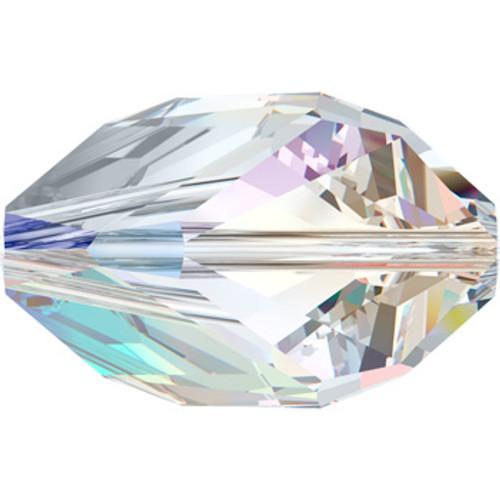 12mm Crystal AB Swarovski® Cubist Beads