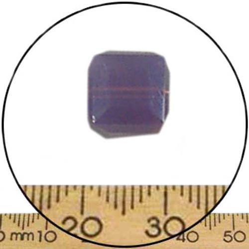 8mm Cyclamen Opal Swarovski Cube Beads