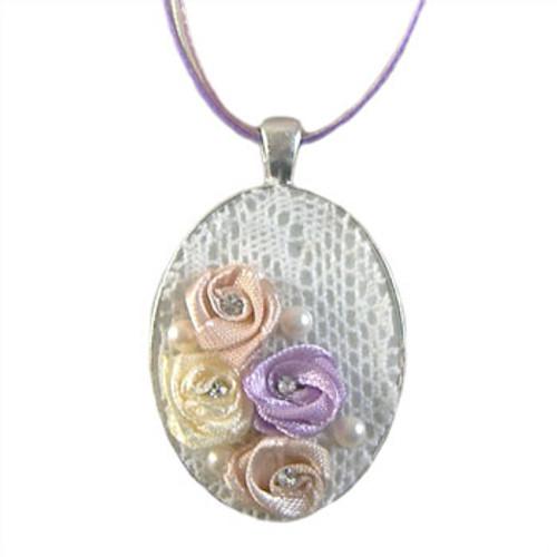 Wistful Lace Pendant Necklace Kit