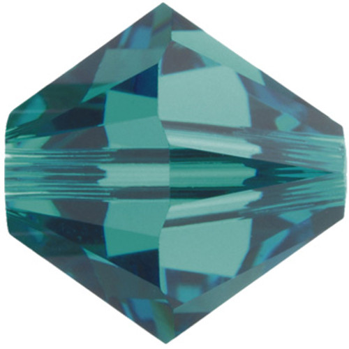 8mm Blue Zircon Swarovski® Bicone