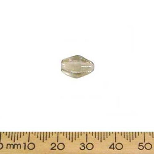 Pale Rose Small Diamond Glass Beads