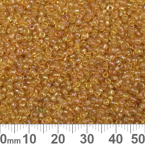 11/0 Champagne AB Seed Beads