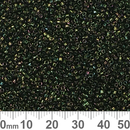 11/0 Green Iris Delica Seed Beads