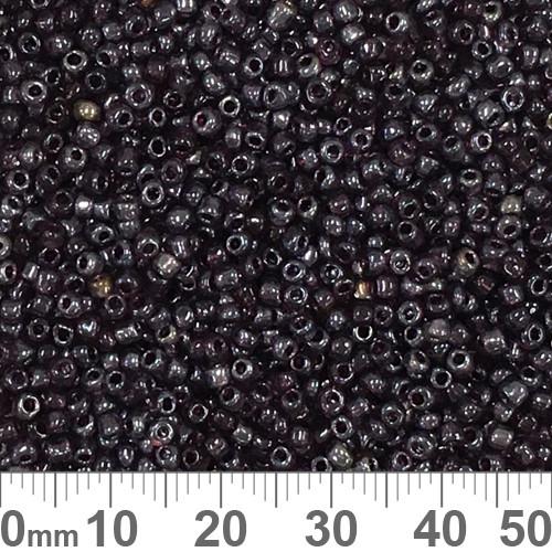 11/0 Dark Rose Luster Seed Beads