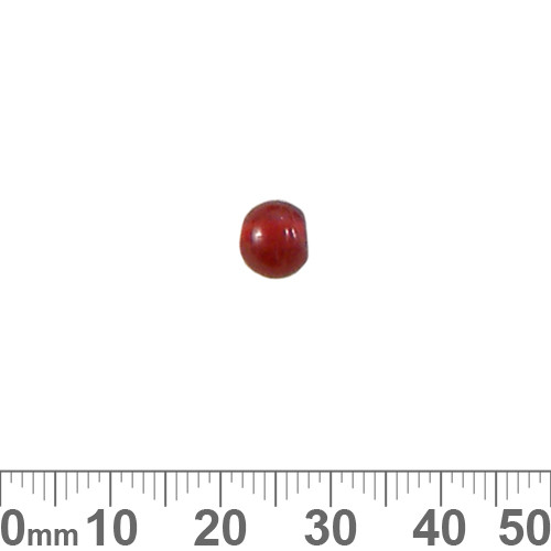 Red Small Round Beads
