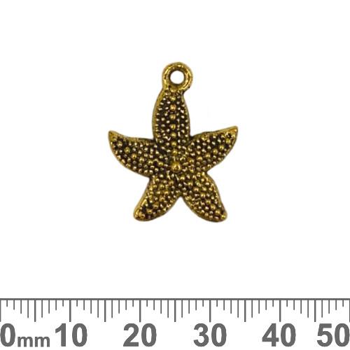 BULK Starfish Metal Charms