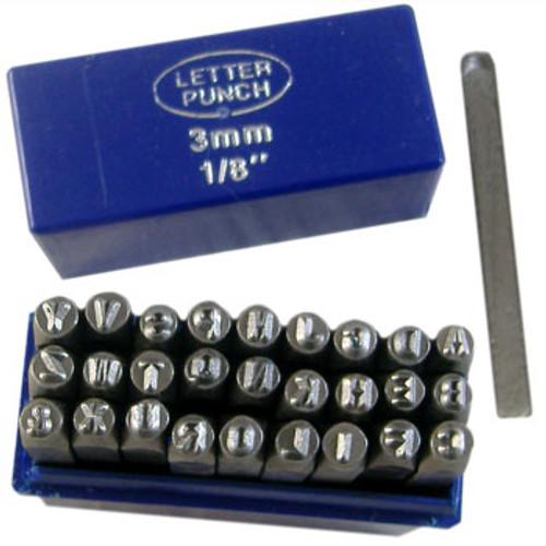 3mm Alphabet Metal Punch Set