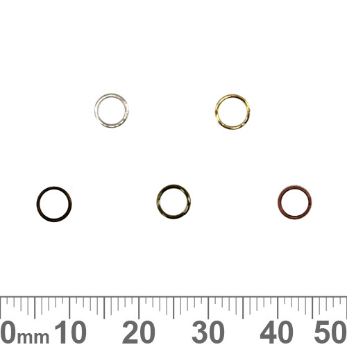 BULK 5mm Thin Jump Rings