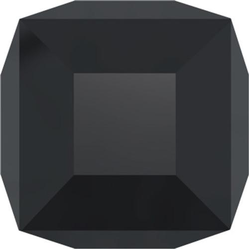 4mm Jet Swarovski® Cube Beads