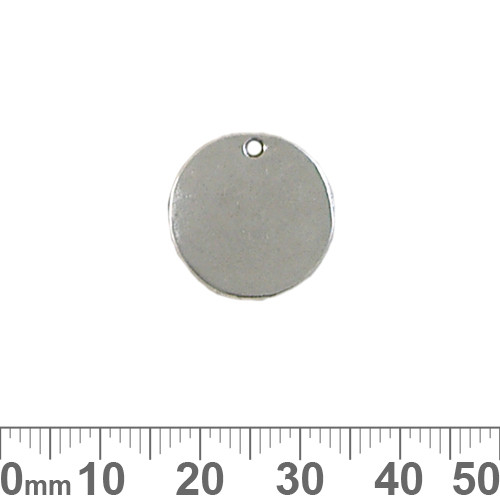 BULK 17mm Round Flat Blank Disc Charms