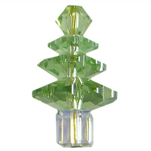 BULK Peridot/Crystal AB Swarovski® Christmas Tree Sets