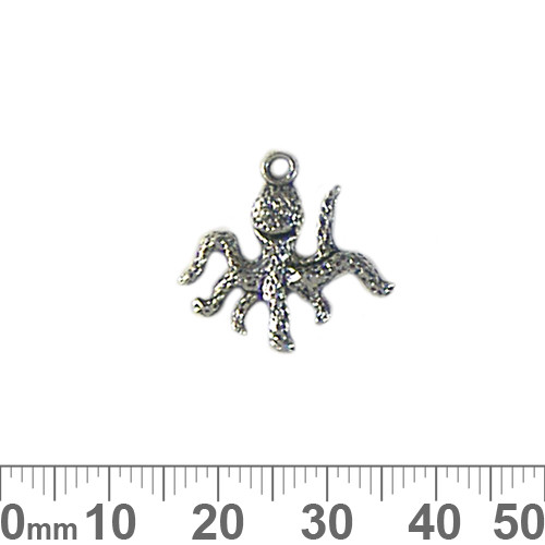 BULK Octopus Metal Charms