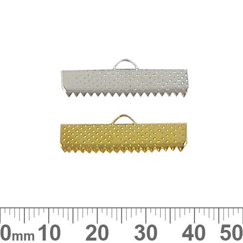 25mm Material Crimp Ends