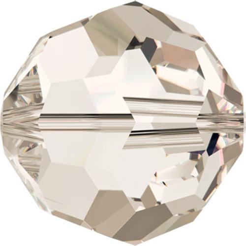 10mm Crystal Silver Shade Swarovski® Round Beads