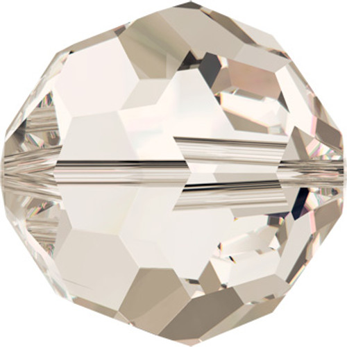 10mm Crystal Silver Shade Swarovski® Round Beads