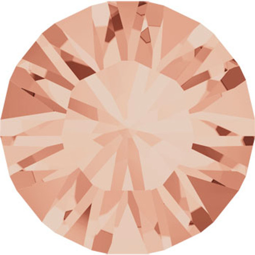BULK Swarovski® SS39 Xilion Pointed Back Light Peach Chatons