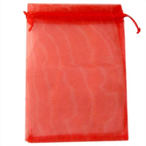 BULK Large Red Organza Bags