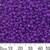 8/0 Opaque Purple Seed Beads