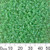 11/0 Opaque Peppermint Luster Seed Beads