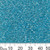 11/0 Opaque Aqua Luster Chinese A-Grade Seed Beads