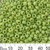 6/0 Opaque Lime Green Seed Beads