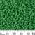 11/0 Opaque Medium Green Seed Beads