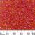 11/0 Orange Red AB Seed Beads